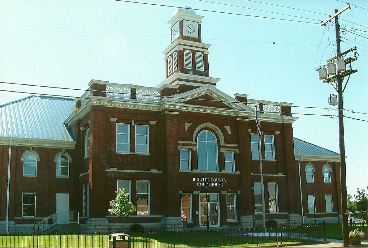 Bullitt county courthouse located in shepherdsville ky