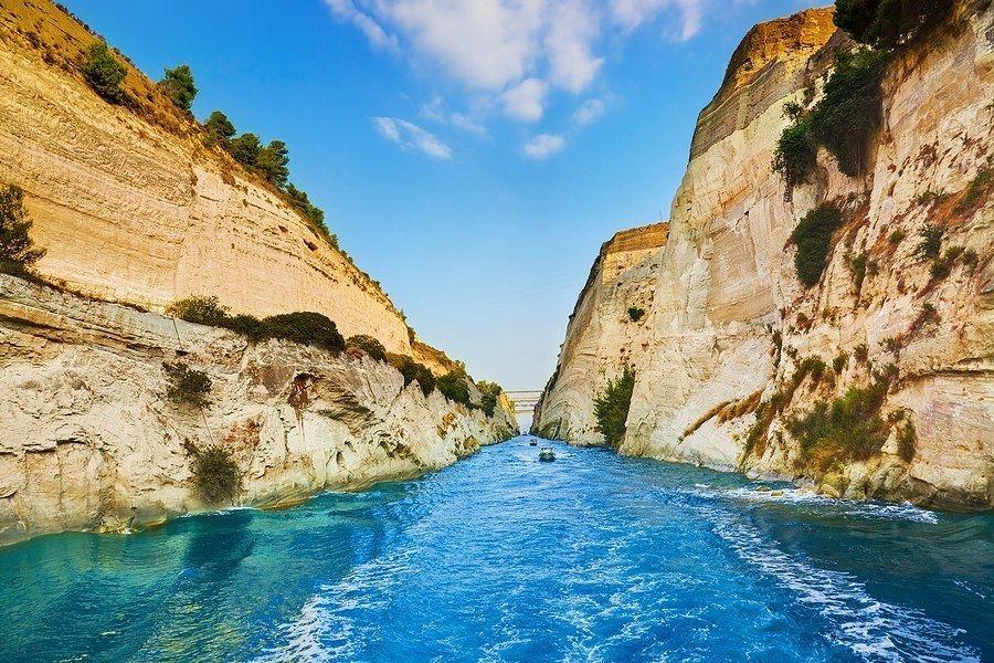 Коринфский канал, Греция - Путешествуем вместе