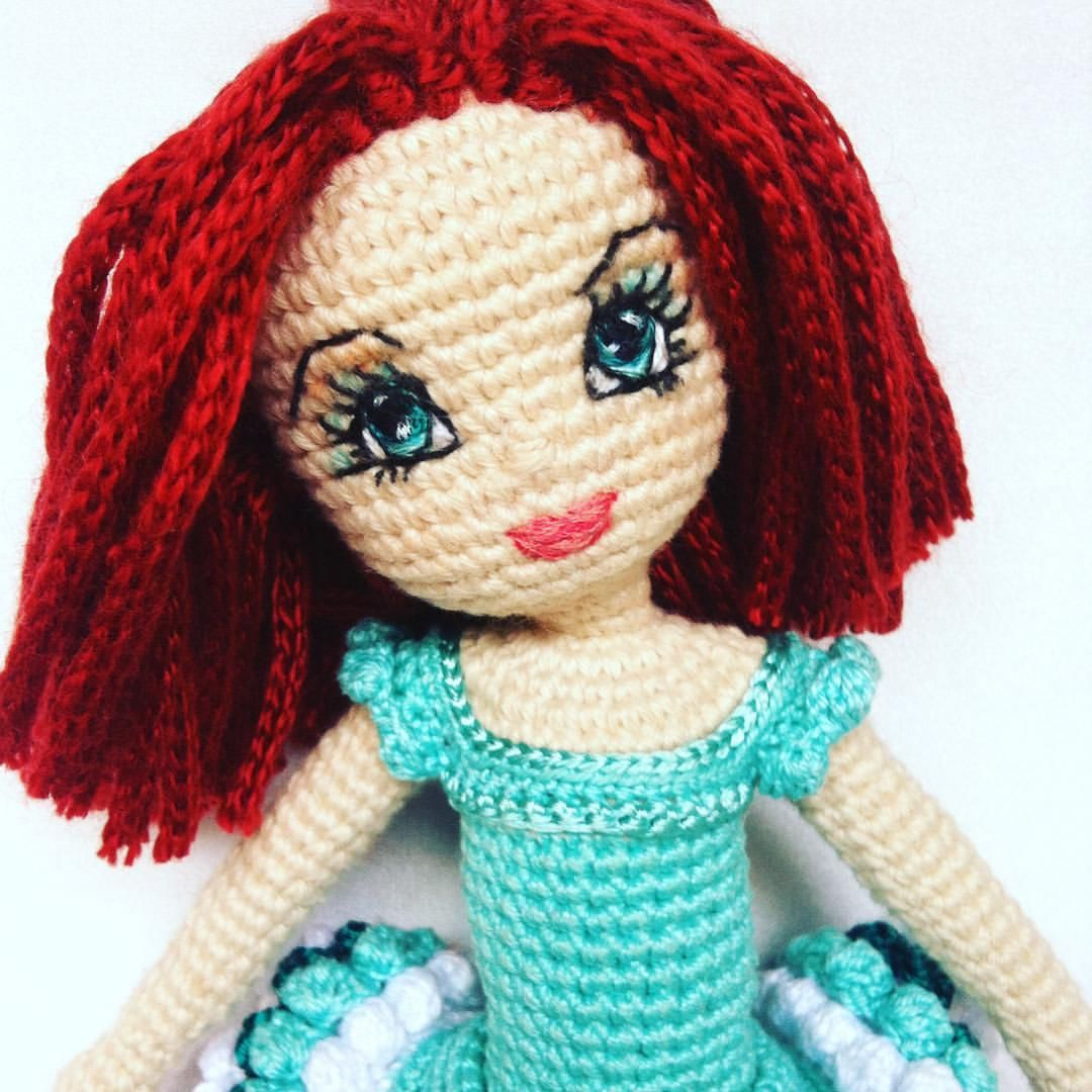 How to Embroider eyes for Amigurumi Crochet Doll Mermaid (Part 3 ...   1080x1080