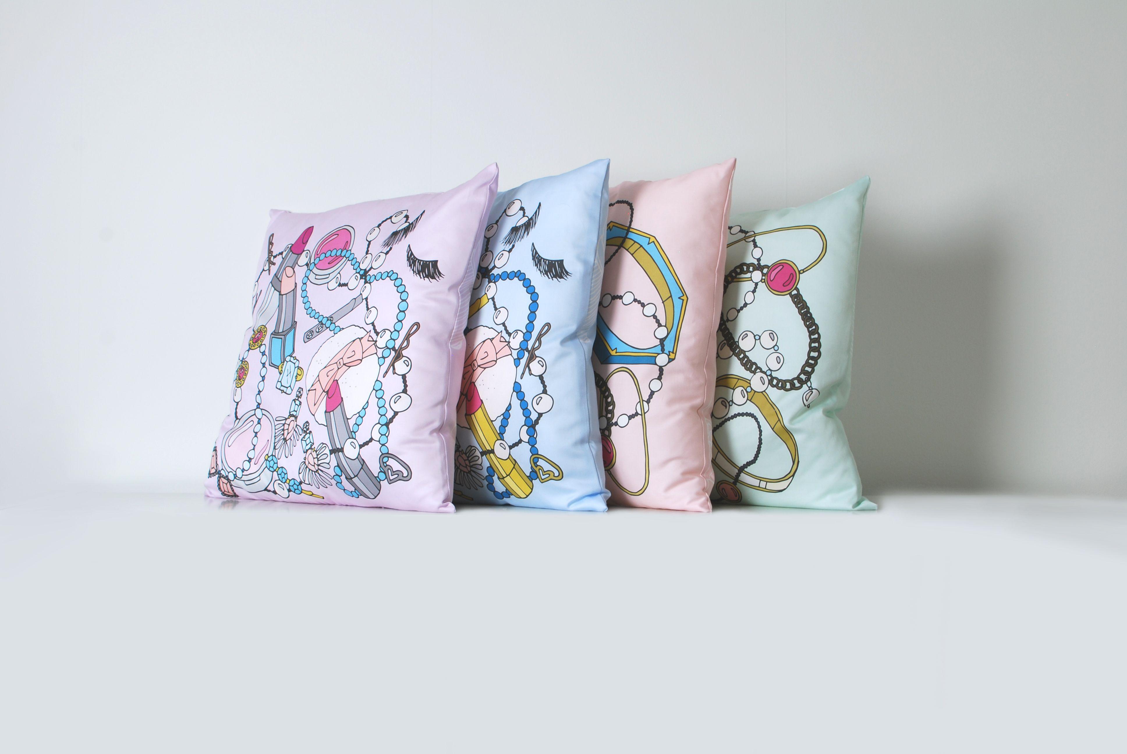 EmmaKisstina pillows launching Spring 2015.