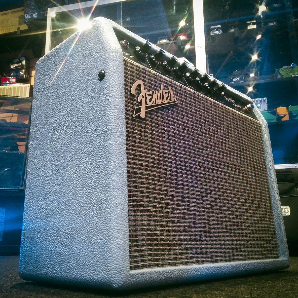 Fender Fsr Superchamp X2 In Sonic Blue Fender Fenderamp