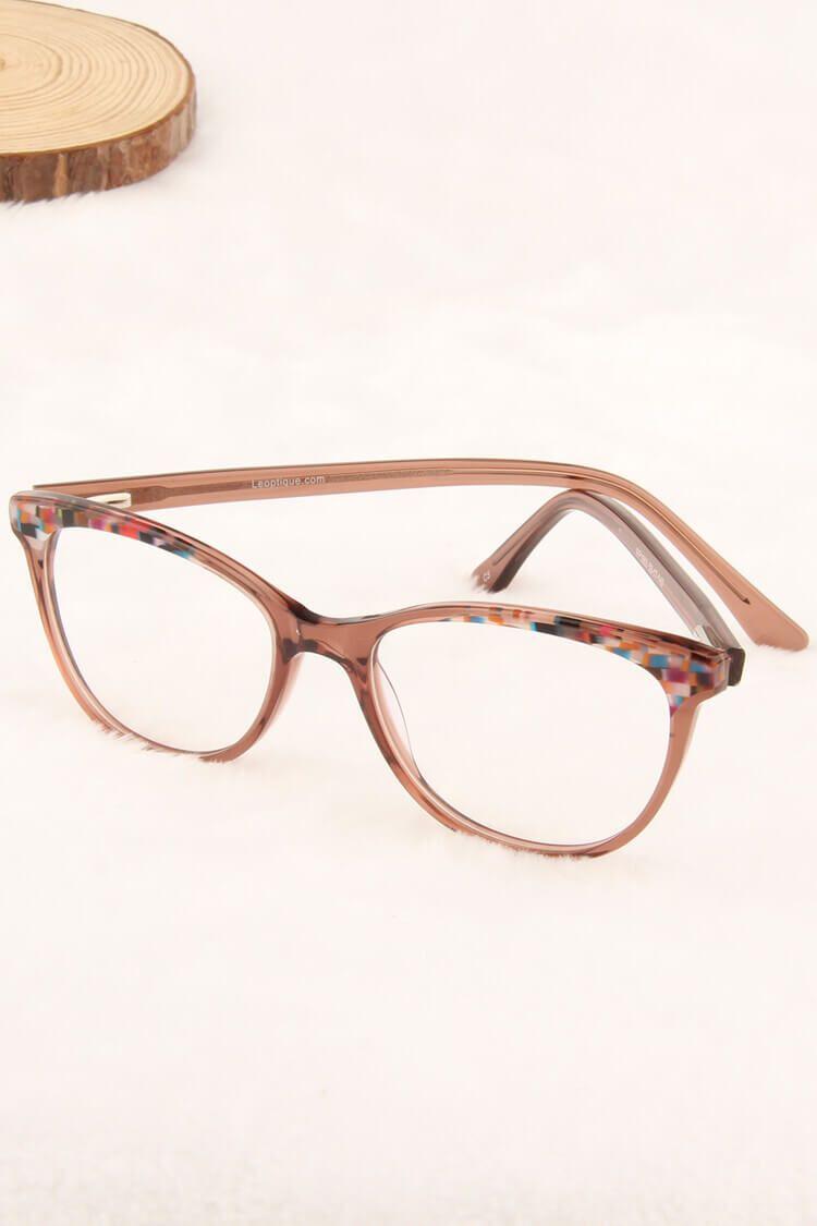 Flower Womens Prescription Glasses Penny Brown