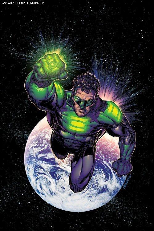 Green Lantern by Brandon Peterson