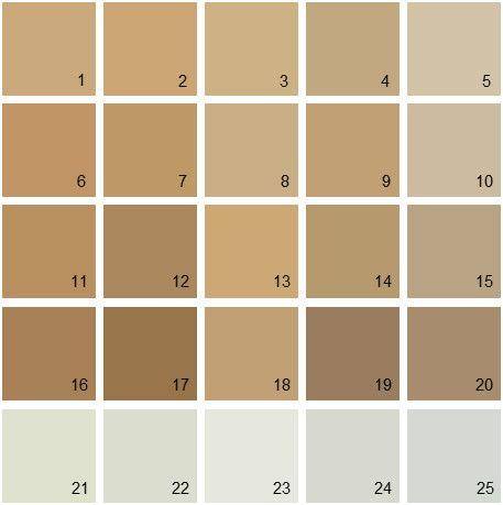 Benjamin moore neutral house paint colors palette 11 - Benjamin moore shaker gray exterior ...
