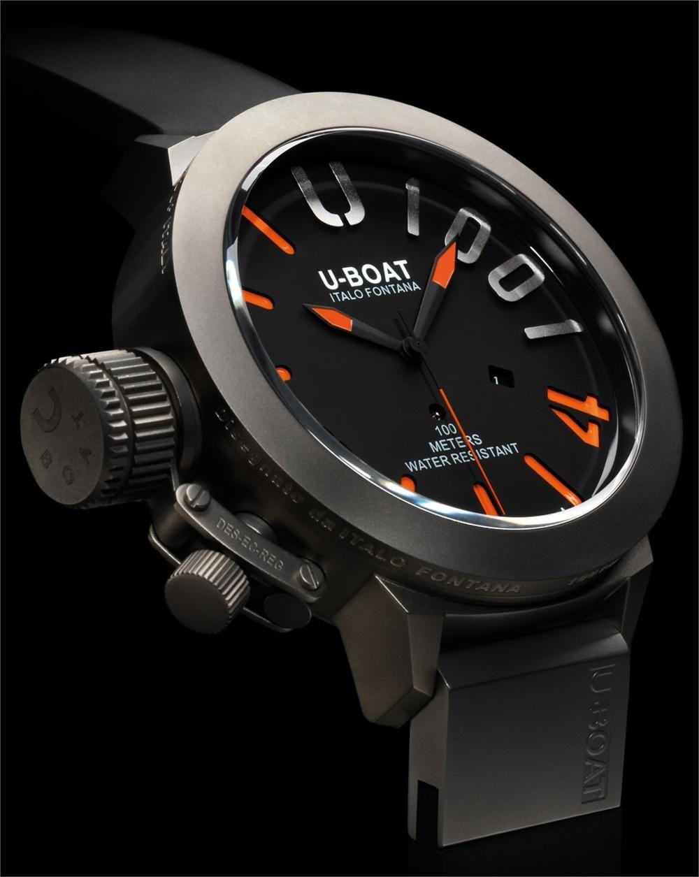60935247ca9 U-Boat Classico U-1001 Titanium Orange Limited Edition watch