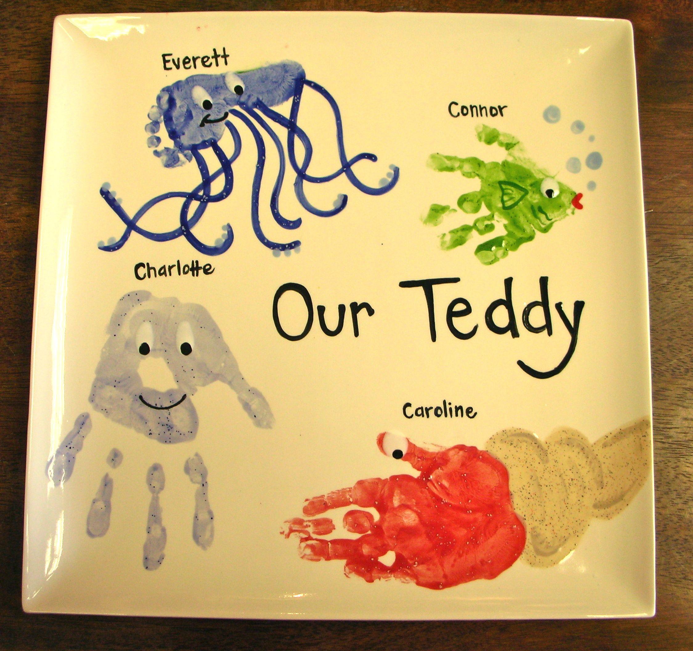 Footprint Octopus Handprint Fish Handprint Jellyfish