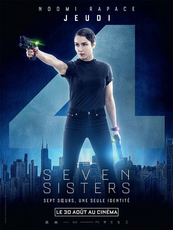 What Happened To Monday Movie Poster Poster De Peliculas Cine