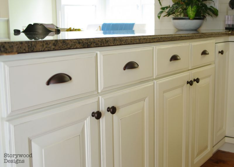 Annie Sloan Chalk Painted Kitchen Cabinets With Floor