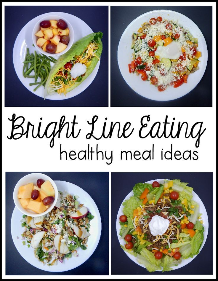 Bright Line Eating Recipes (inspired and unofficial) - The
