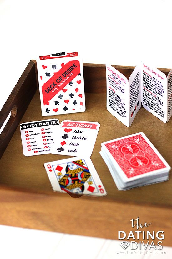 Sexy deck of cards