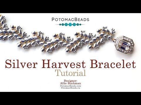 Photo of Silver Harvest Bracelet – DIY Jewelry Making Tutorial by PotomacBeads