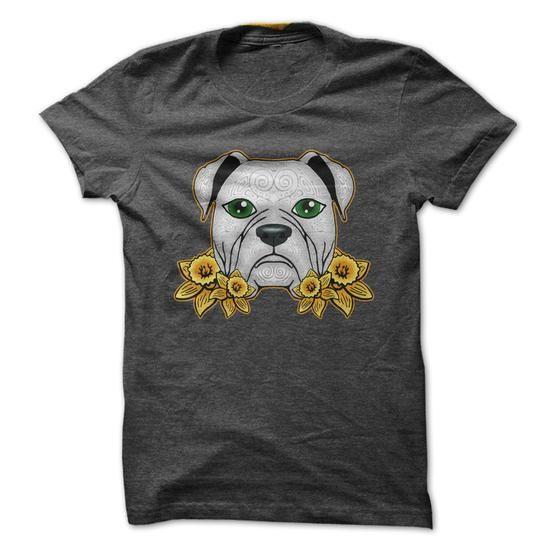 Sweatshirts American Bulldog T Shirt Tee Shirt