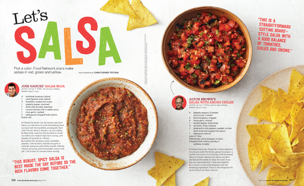 magazine food spreads google search food network recipes food spicy salsa pinterest