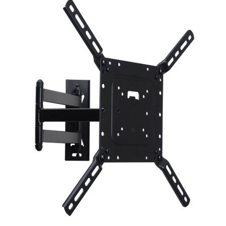 """VideoSecu Full Motion TV Wall Mount for Most 26""""-55"""" LCD LED Plasma Flat Panel Screen Display Articulating Bracket CB6"""