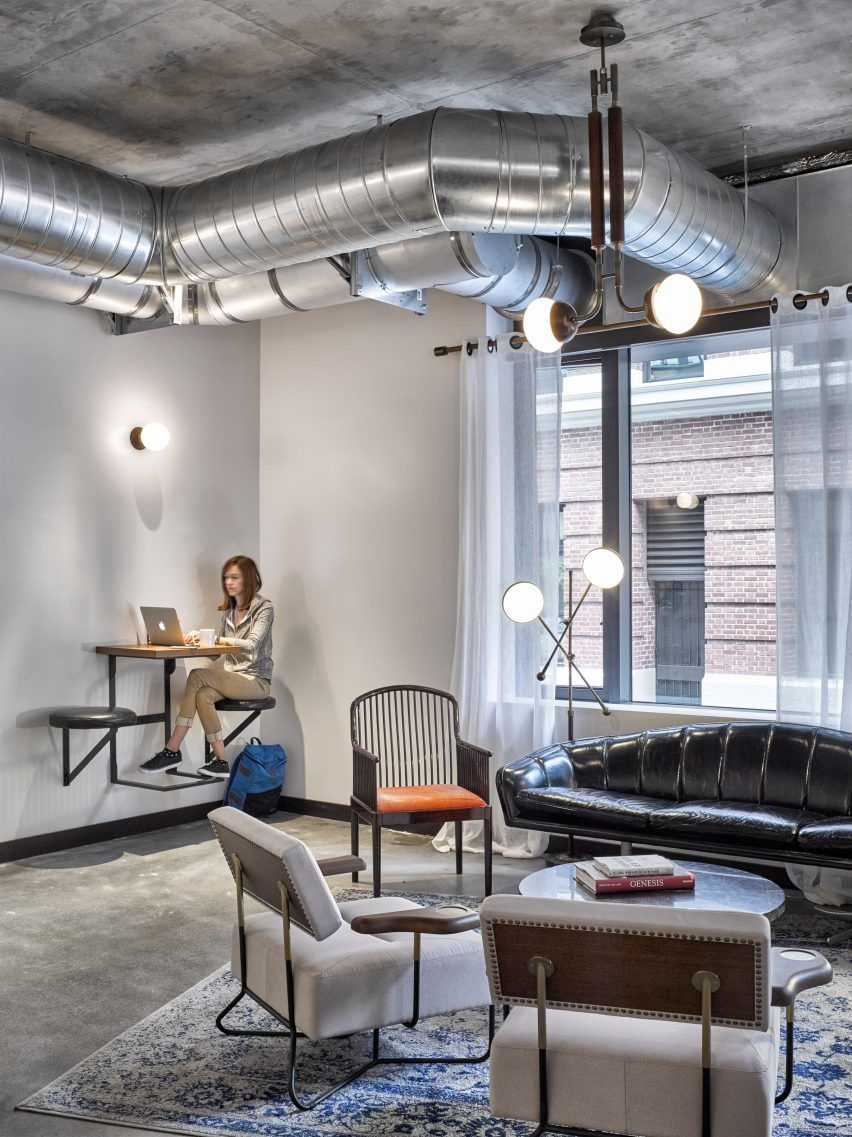 industrial office decor. Dropbox Opens Industrial-style Cafeteria At California Headquarters Industrial Office Decor C