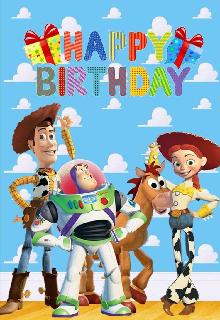 Toy Story Printable Birthday Cards Printbirthday Cards Birthday Card Printable Toy Story Birthday Birthday Toys