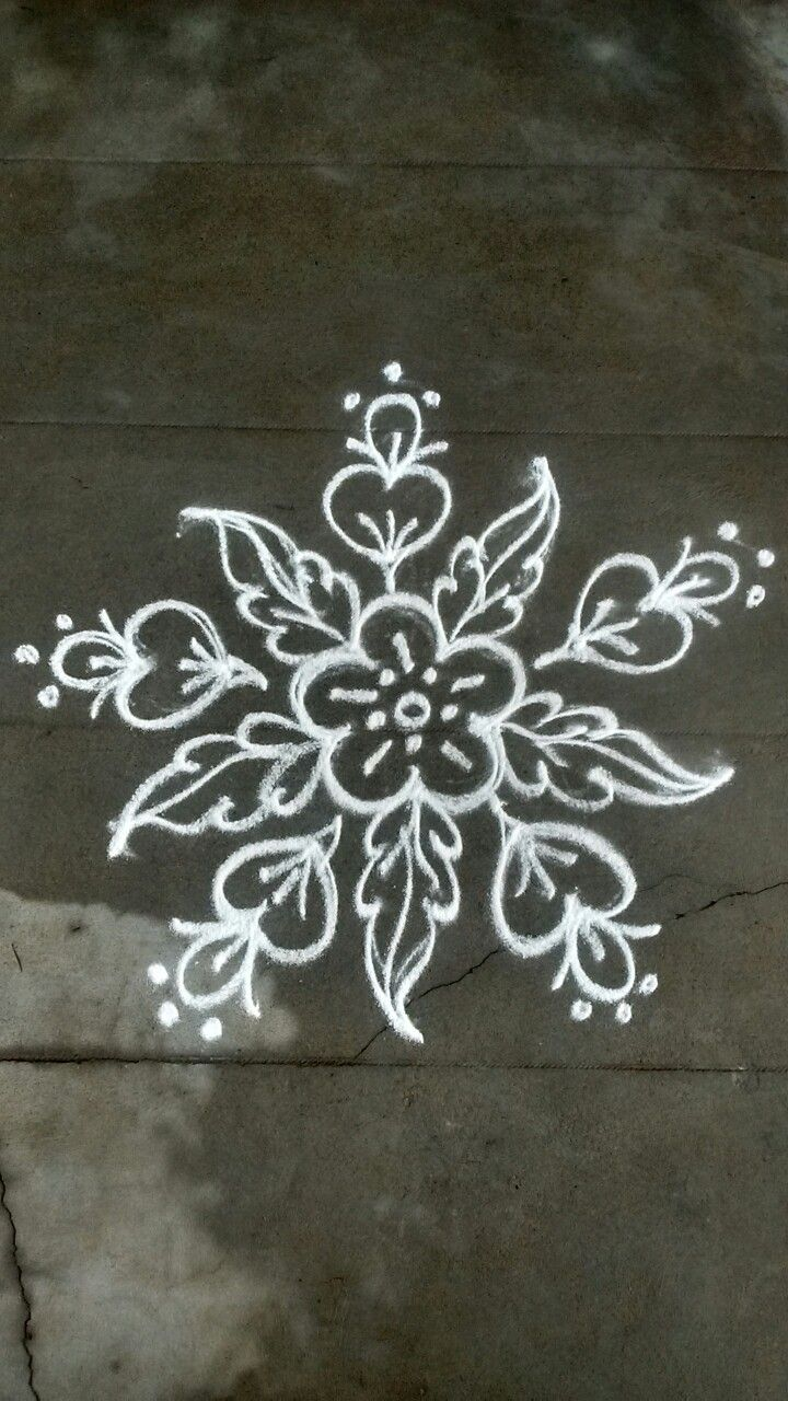 Pin by VENNILA VENKATACHALAPATHY on Kolam Rangoli