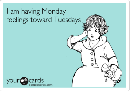 Funny Somewhat Topical Ecard: I wouldve been in bed an hour ago.