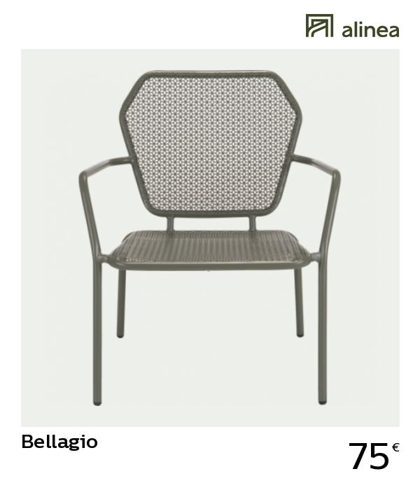 alinea #decoration bellagio fauteuil bas de jardin en acier ...