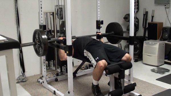 pin presses for increasing bench press