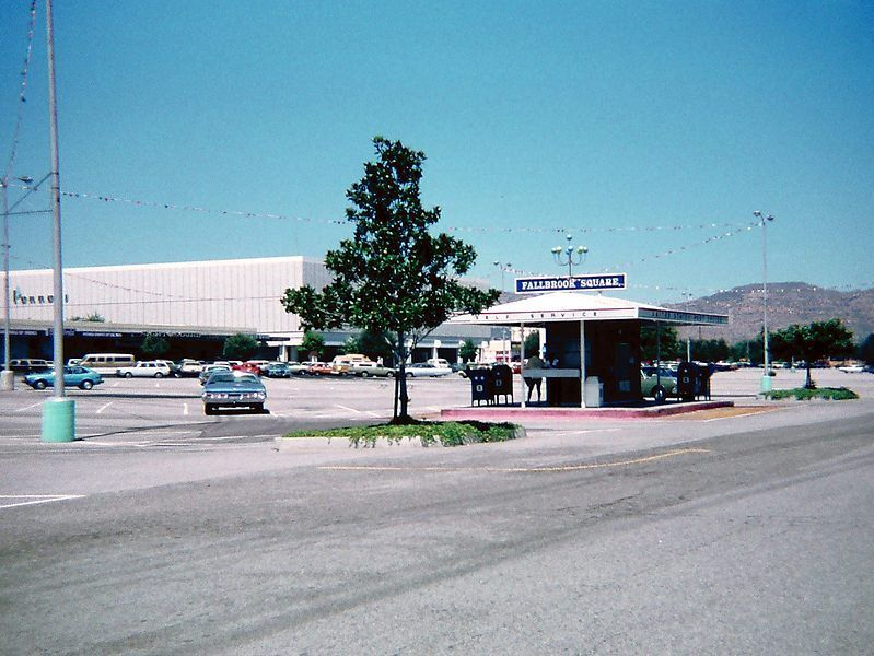 Fallbrook Square Mall I Worked At Crocker Bank Which Became Wells