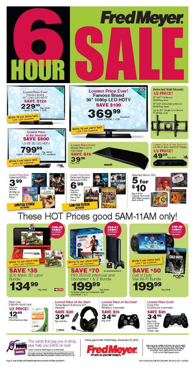 Fred Meyer Black Friday 2013 Ad — Find the Best Fred Meyer