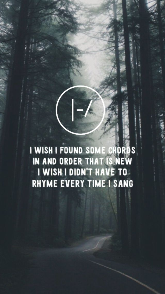 Pin By Yamaha Entertainment Group On X Twenty One Pilots Quotes One Pilots Twenty One Pilots