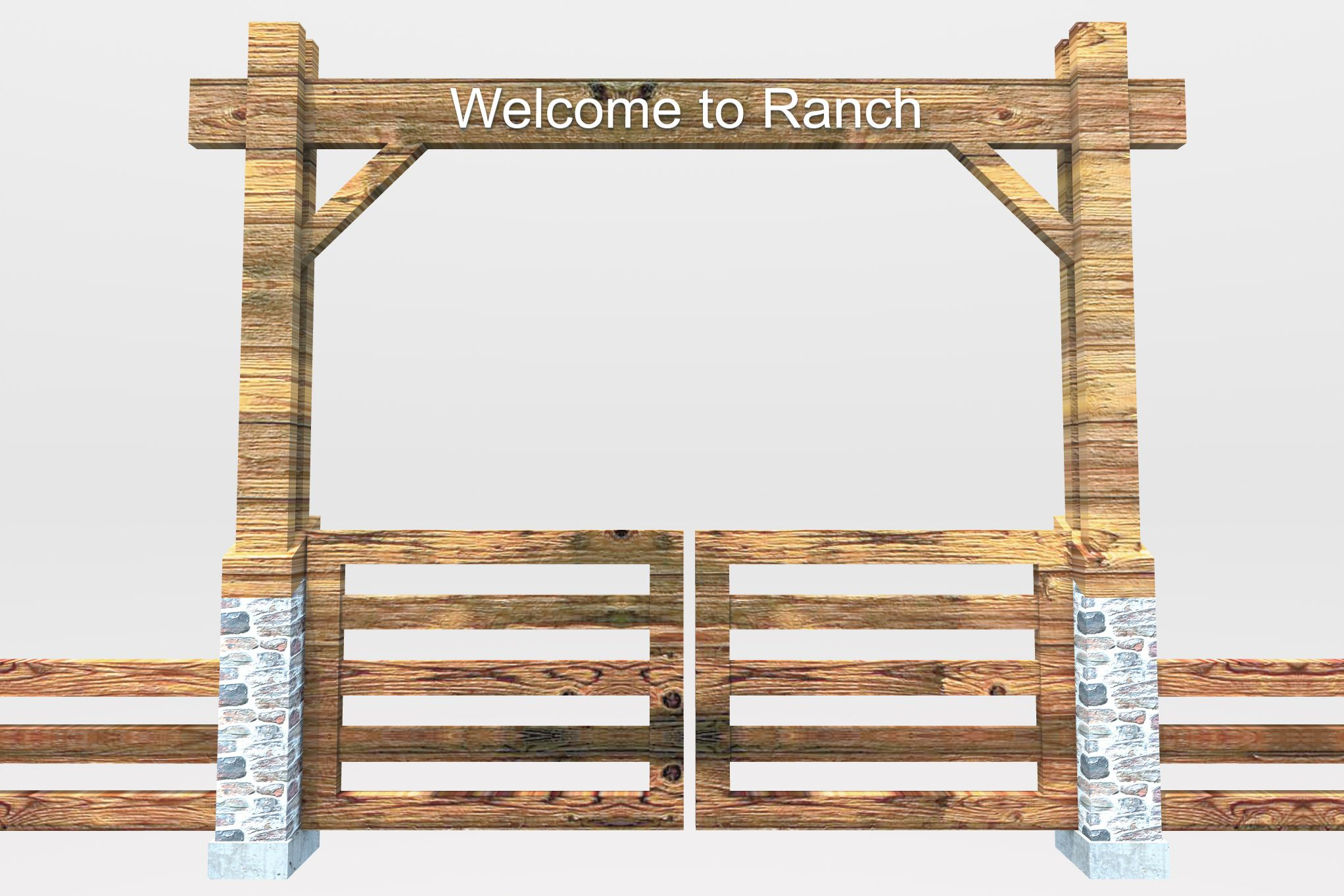 Pix For > Ranch Gate Clipart | Ideas for the House | Pinterest ...