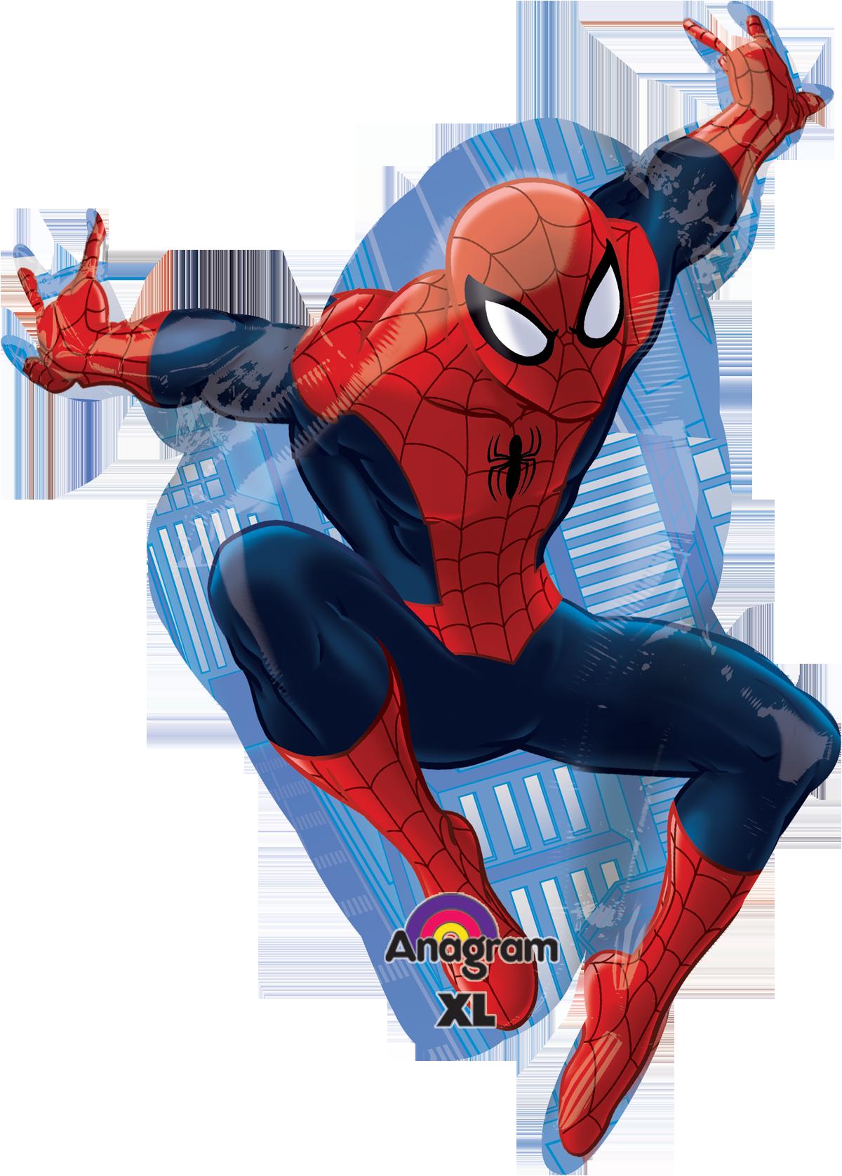 Spiderman globo SuperShape ConverGram  Globo de la Semana