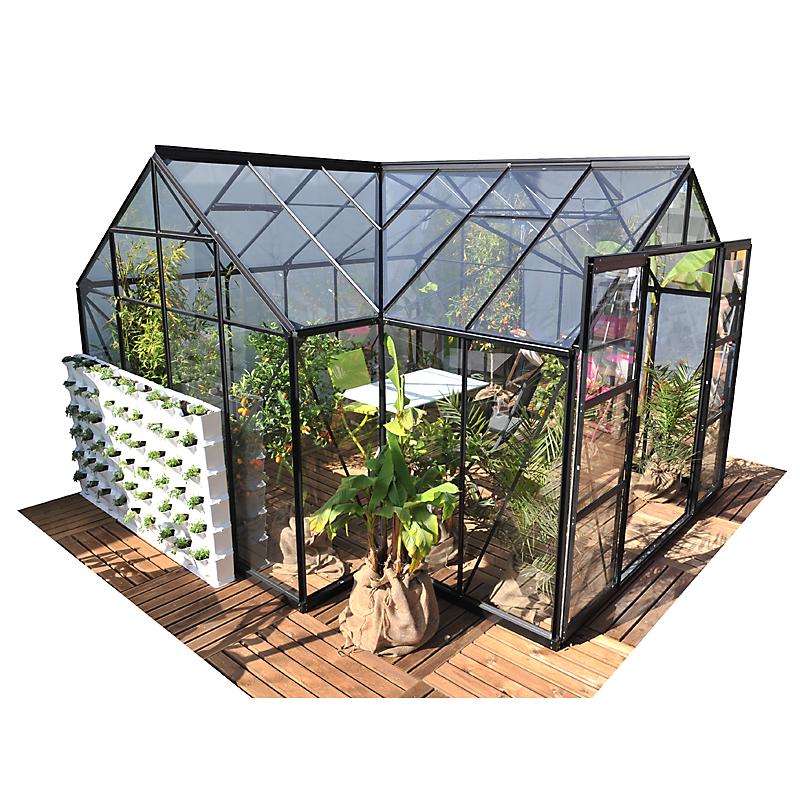 Serre De Jardin Orangerie Sirius Aluminium 13 M Maison Et Loisirs E Leclerc In 2020 With Images