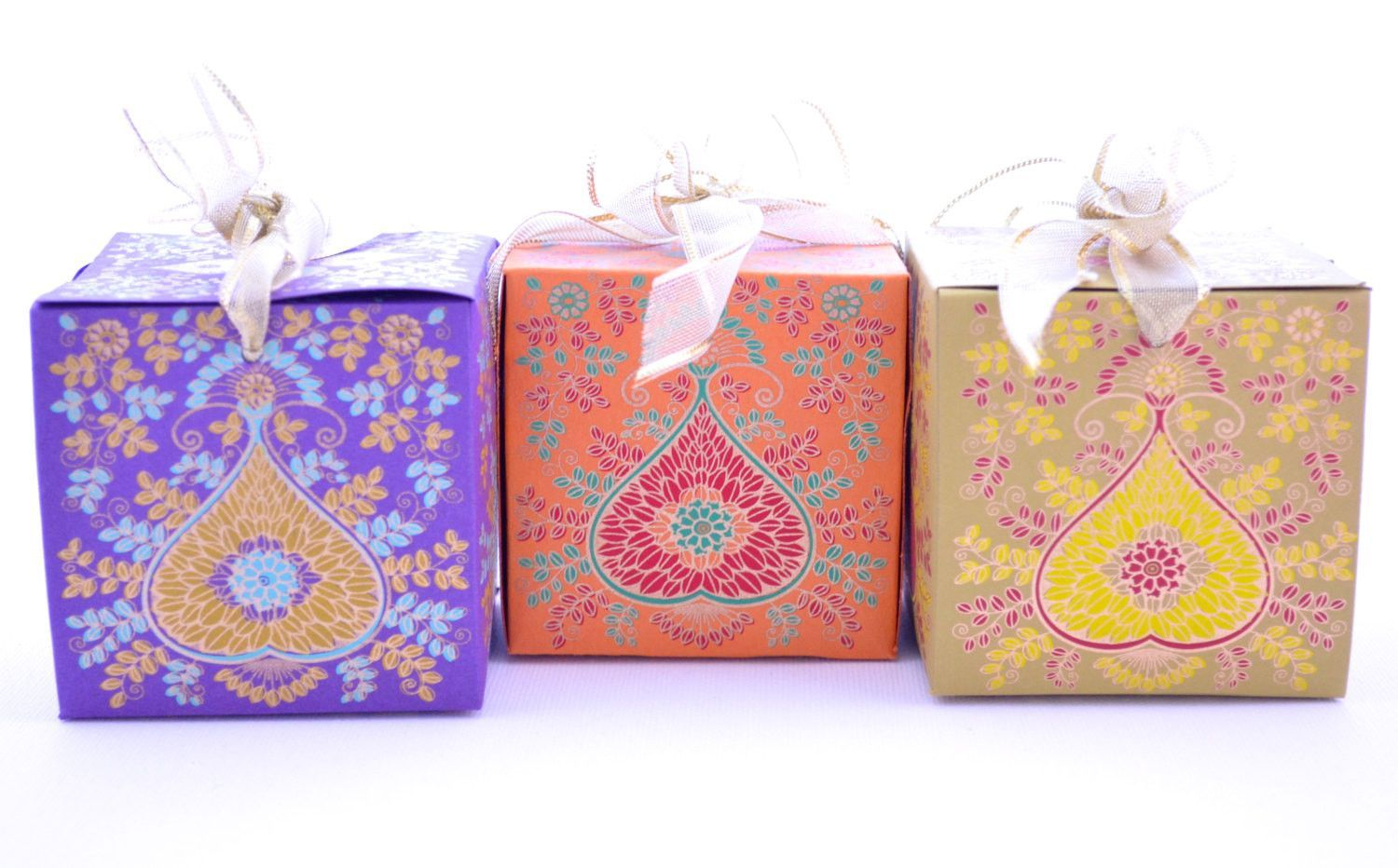Wedding Favor Gift Box with Ribbon | Ramadan gifts and Favors