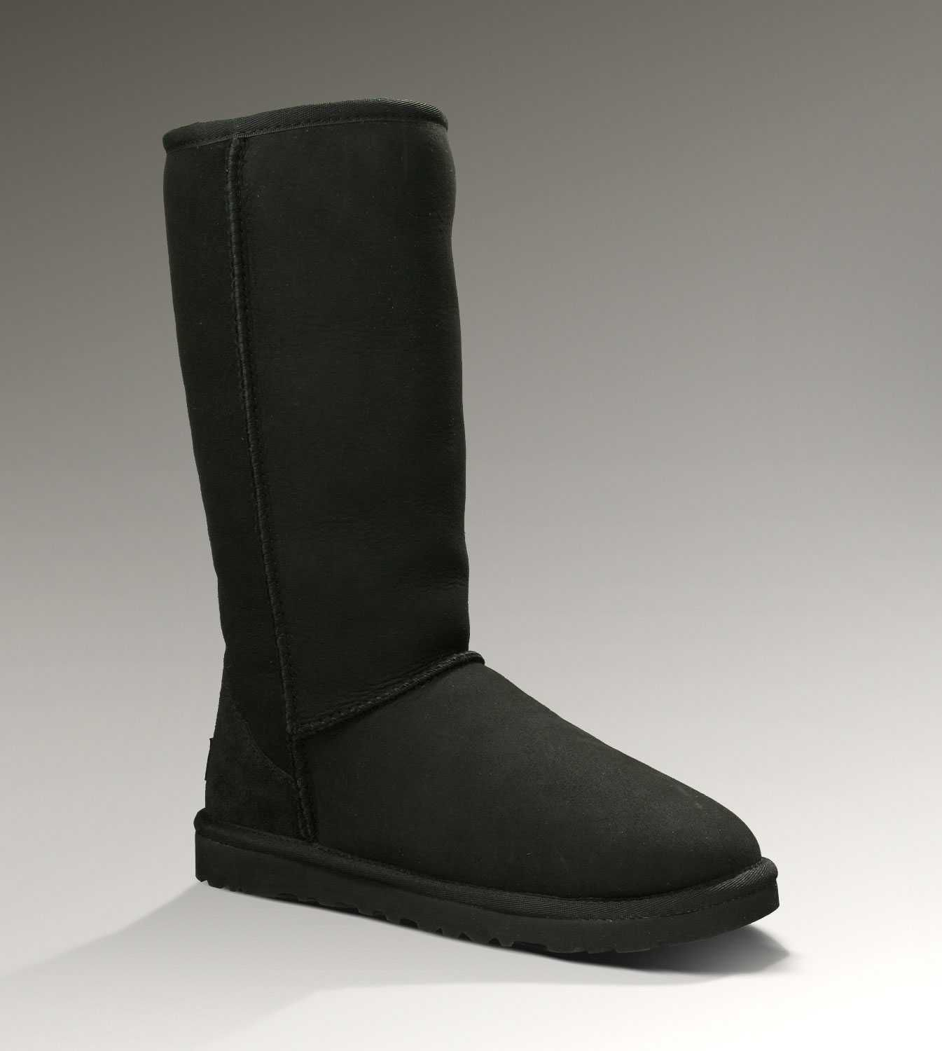 uggs classic tall black size 6