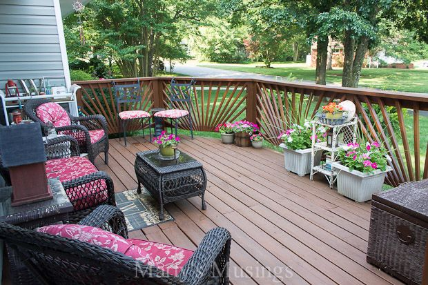 Budget Decorating Ideas For The Deck Deck Decorating Ideas On A Budget Deck Decorating Outdoor Decor