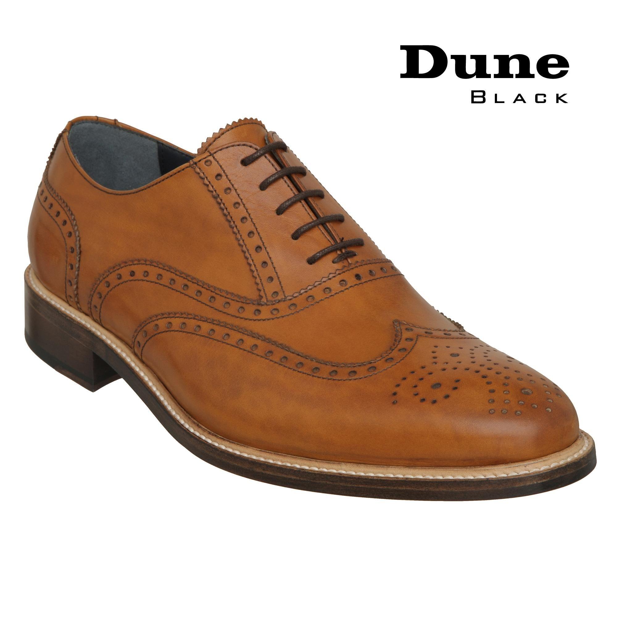 Dune Black Classic Calf Leather