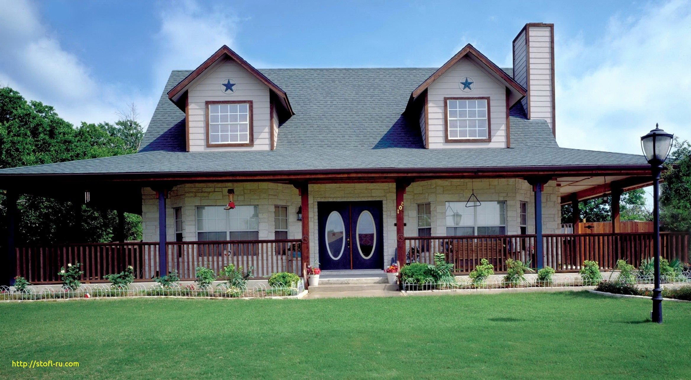 Country Style House Plans Wrap Around Porches  Modern Style
