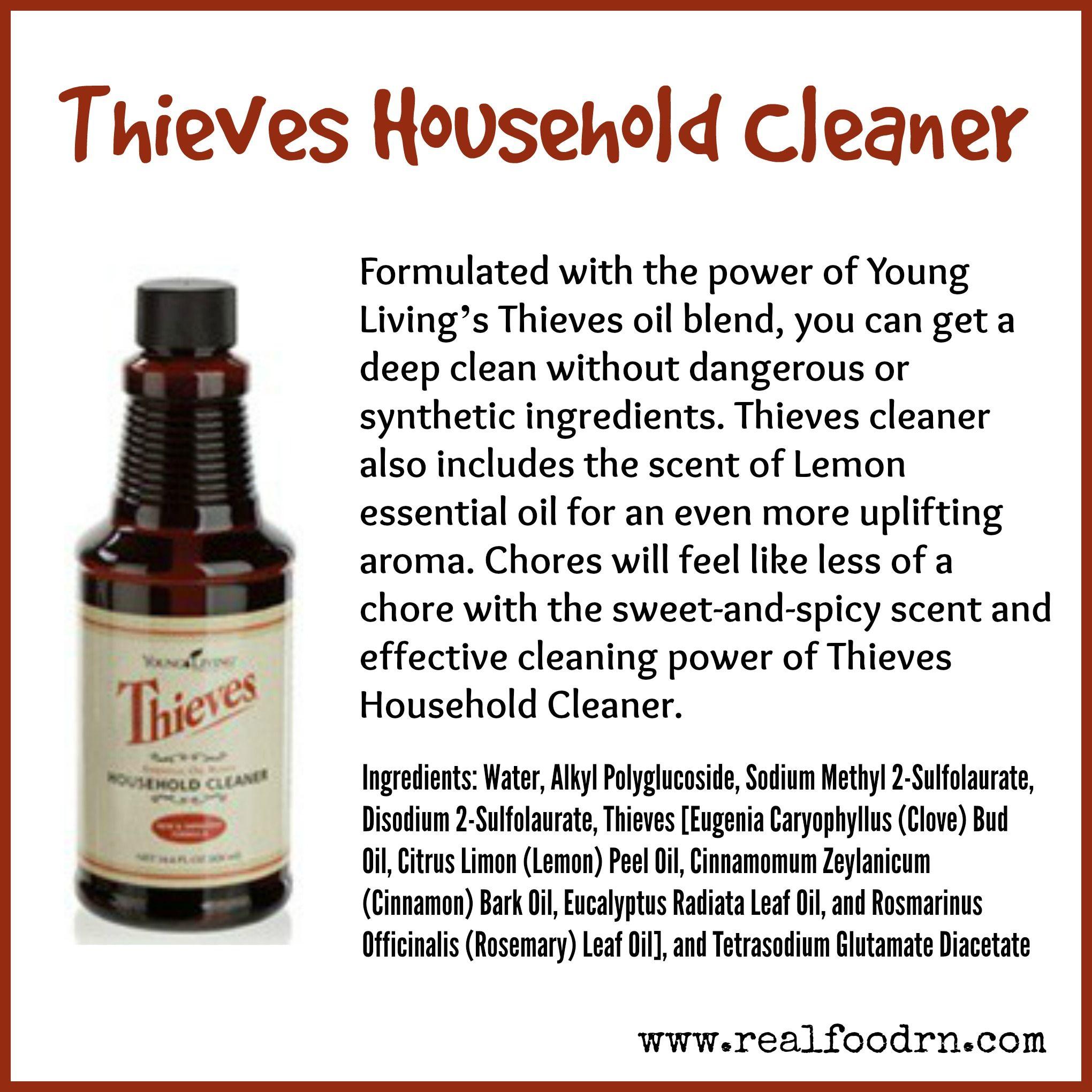 Thieves Household Cleaner Thieves Household Cleaner Thieves