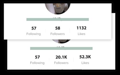 Free Tiktok Followers Generator No Survey Proof How To Get Followers Heart App Free Followers