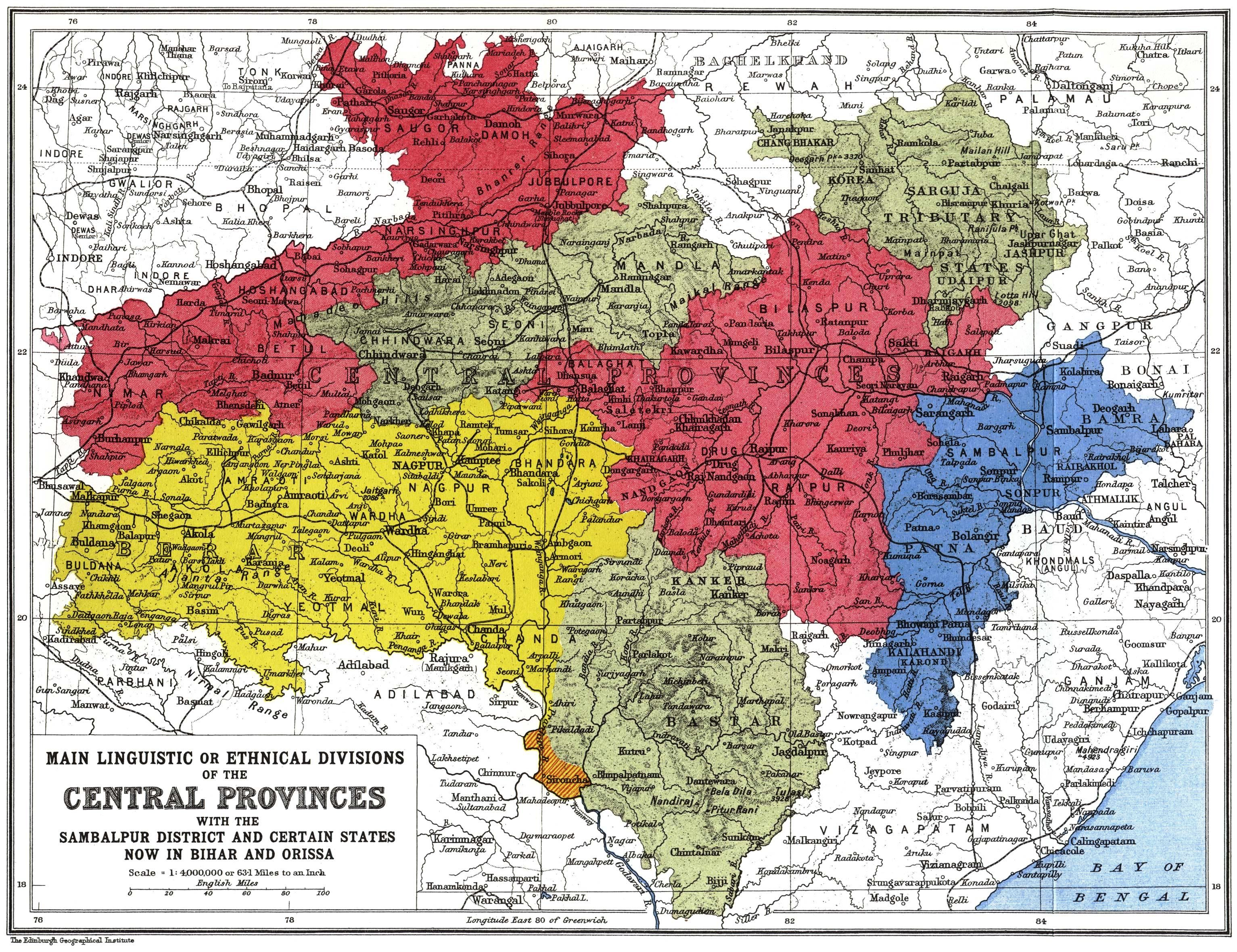 vintage map linguistic map of india art pinterest india