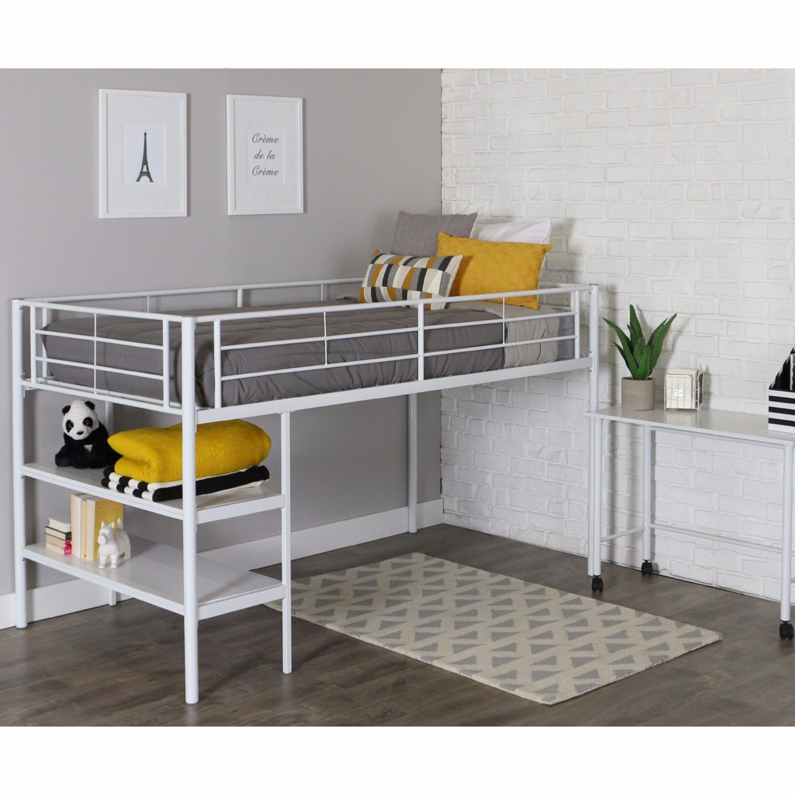 Picture 1 of 1 Low loft beds, Daybed bedding, Bed furniture