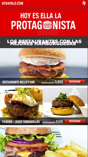 Día Mundial de la Hamburguesa 2015 - Atrápalo