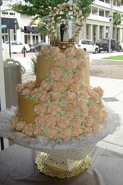 Wedding Cakes And Toppers Pastel Vintage Victorian Wedding