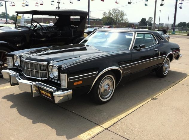 American Aspirationals In The 1970s Detroit Made Middle Class Luxury Personal Ford Torino Ford Motor Ford Lincoln Mercury
