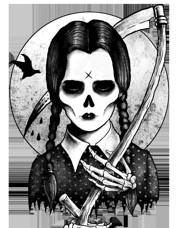 Marcusjonesart S Designs And Bio Teevillain Creepy Paintings Horror Art Art Drawings Sketches