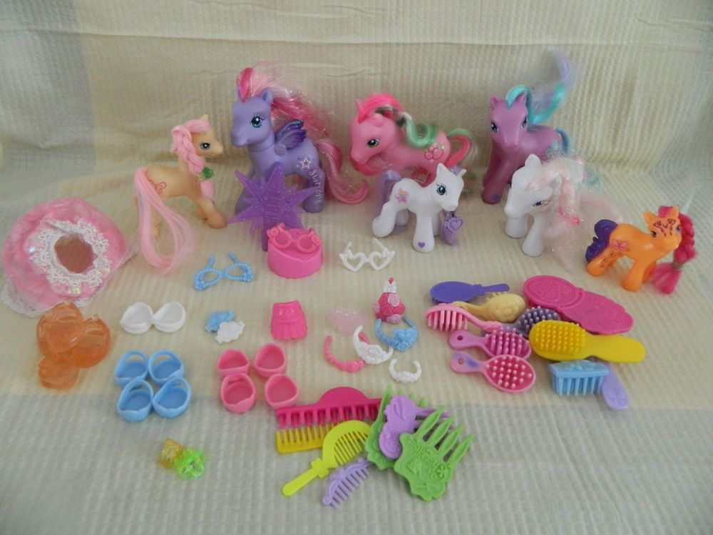 My Little Pony w. Accessories, Brushes & Combs,