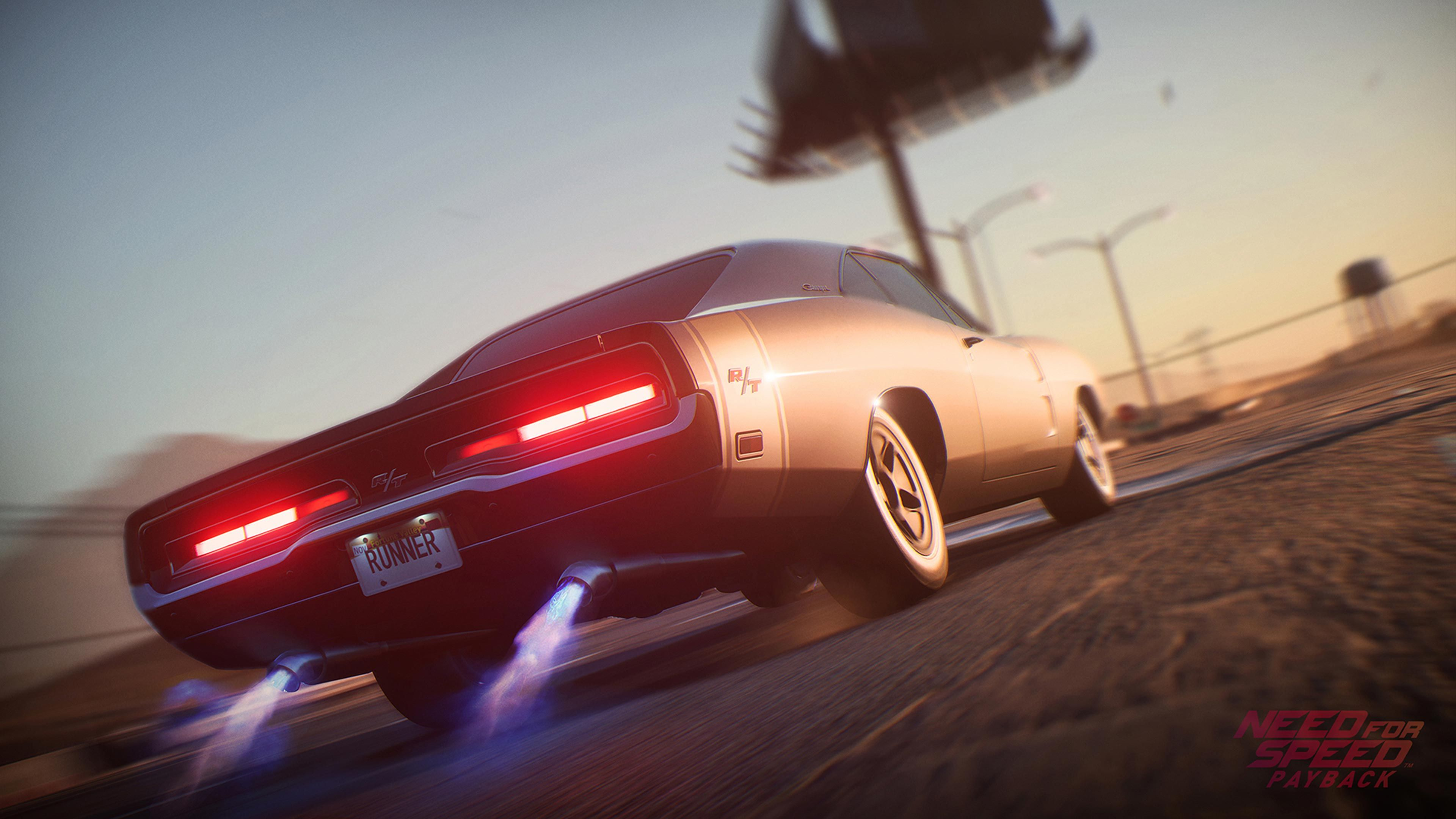 Dodge Charger Need Speed Payback Is An HD Desktop Wallpaper Posted In Our Free Image Collection Of Gaming Wallpapers