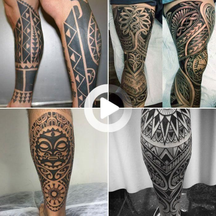 125 Best Leg Tattoos For Men