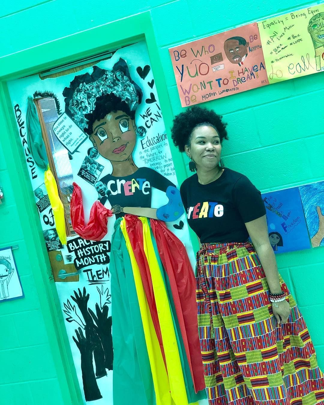 Black History Month Crafts Image By Kimberly M Mitchell