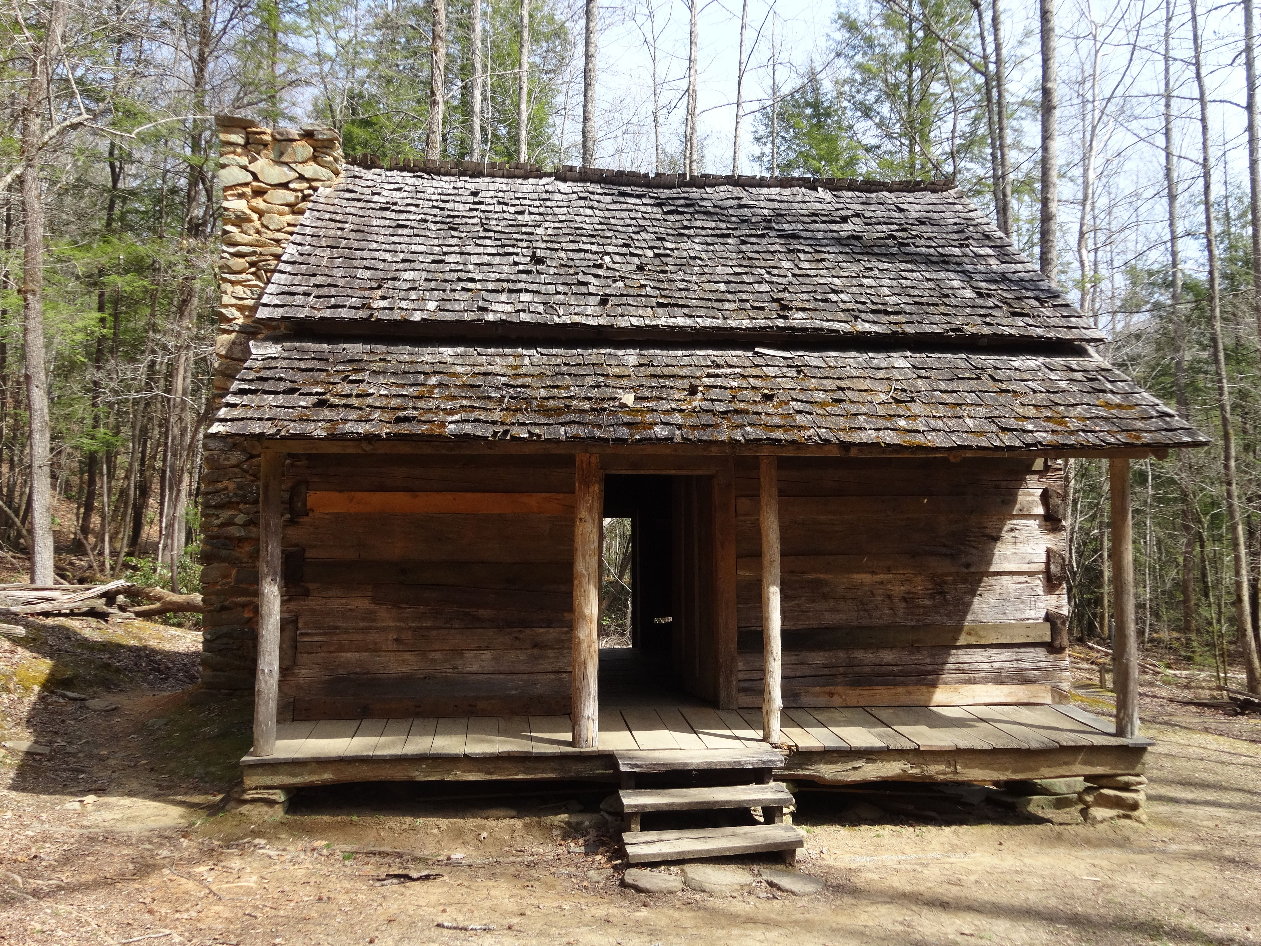 John Ownby Cabin Great Smoky Mountains National Park Tn Log Cabin Exterior Rustic Cabin Cabins In The Woods
