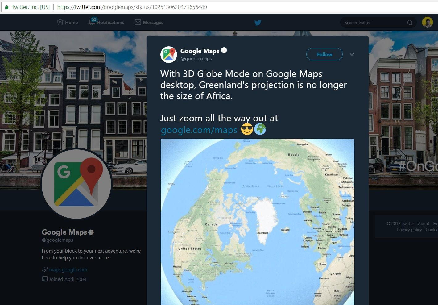 Google Map Angers the Flat-Earthers With Its New Feature