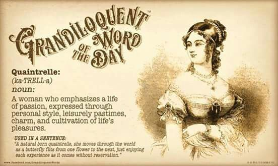 Image result for quantrelle words